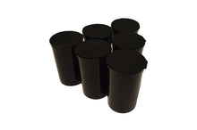 19 Dram Solid Black Pop Top Containers 80ml Squeeze Vial Medical Pill Box