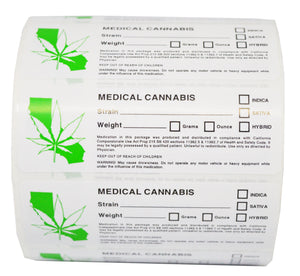 California State Medical Labels