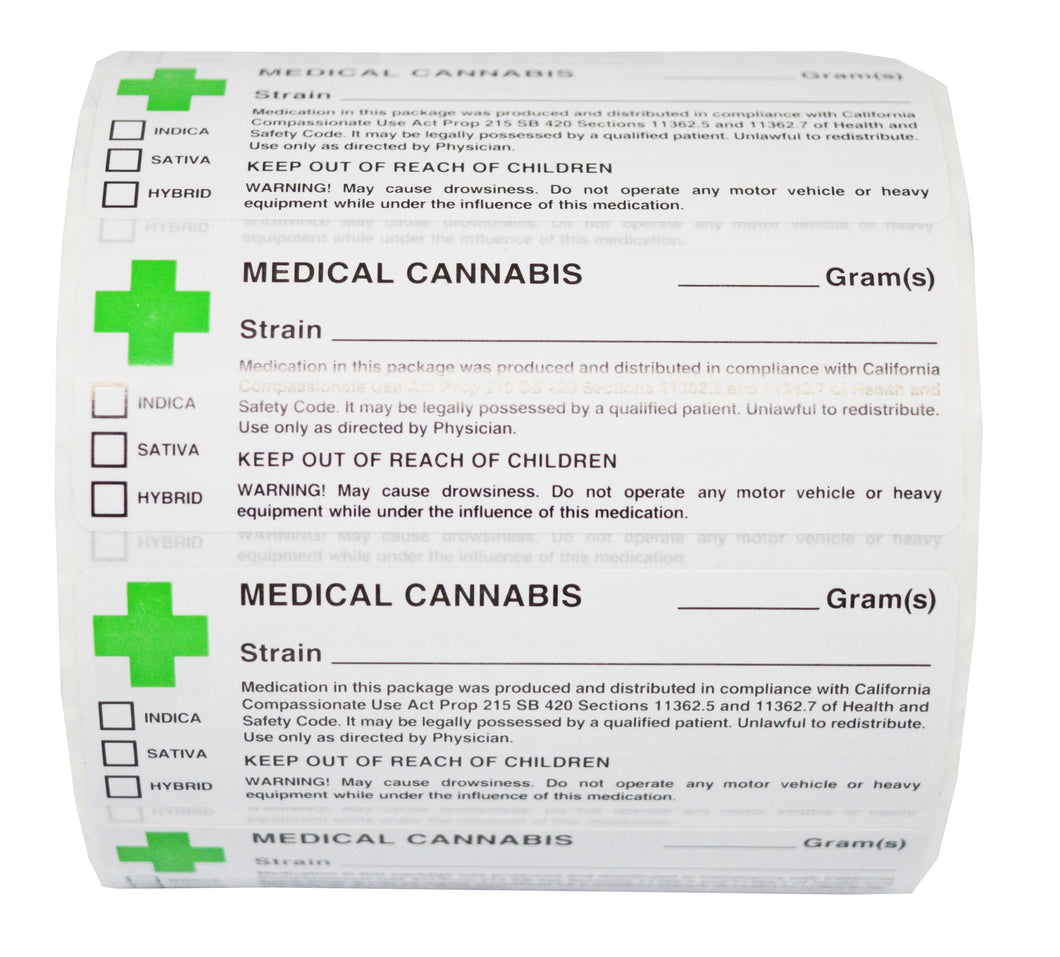 Green Cross Medical Labels