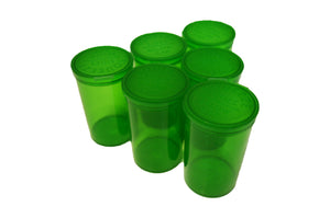 19 Dram Transparent Green Pop Top Containers 80ml Squeeze Vial Medical Pill Box
