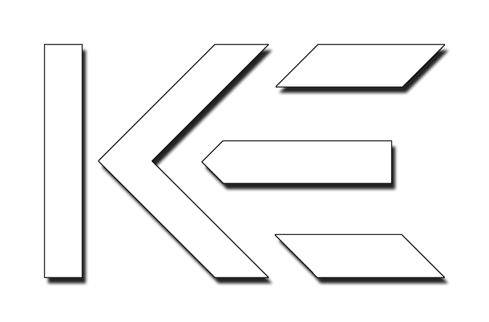 KE Logo Decal 3