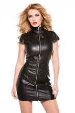 Load image into Gallery viewer, Faux Leather Dress