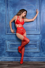 Load image into Gallery viewer, Angel of Love Lace Teddy (R)