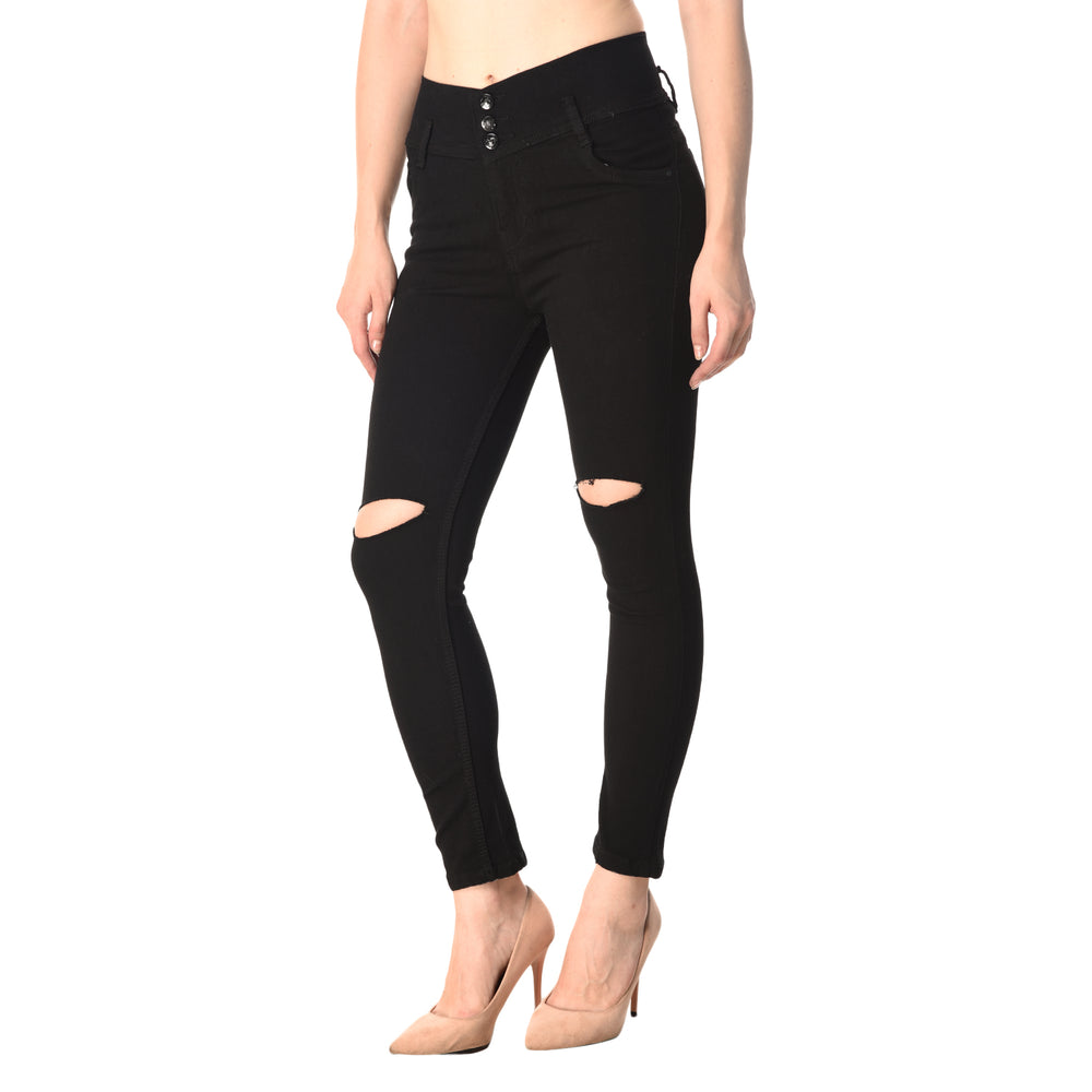 Essence Ripped Knee Jeans