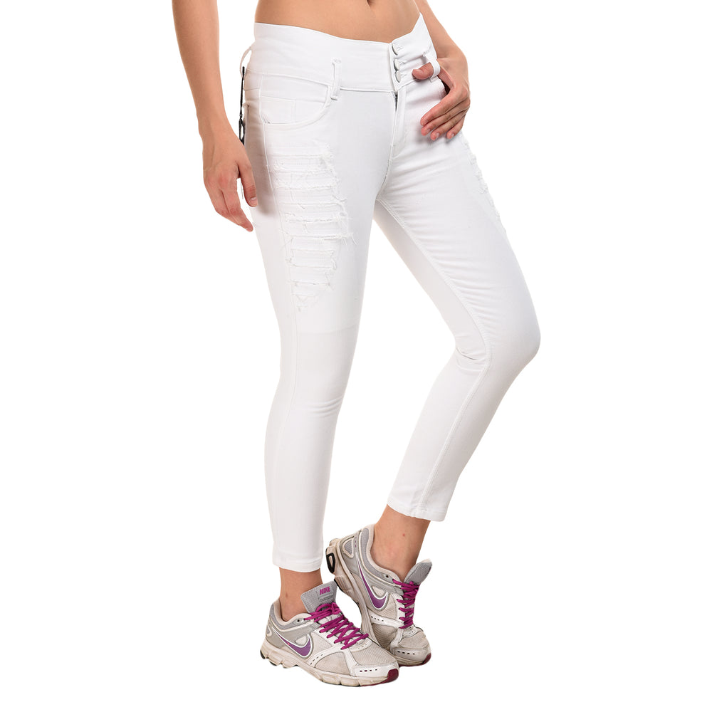 Essence High Waist Skinny Jeans