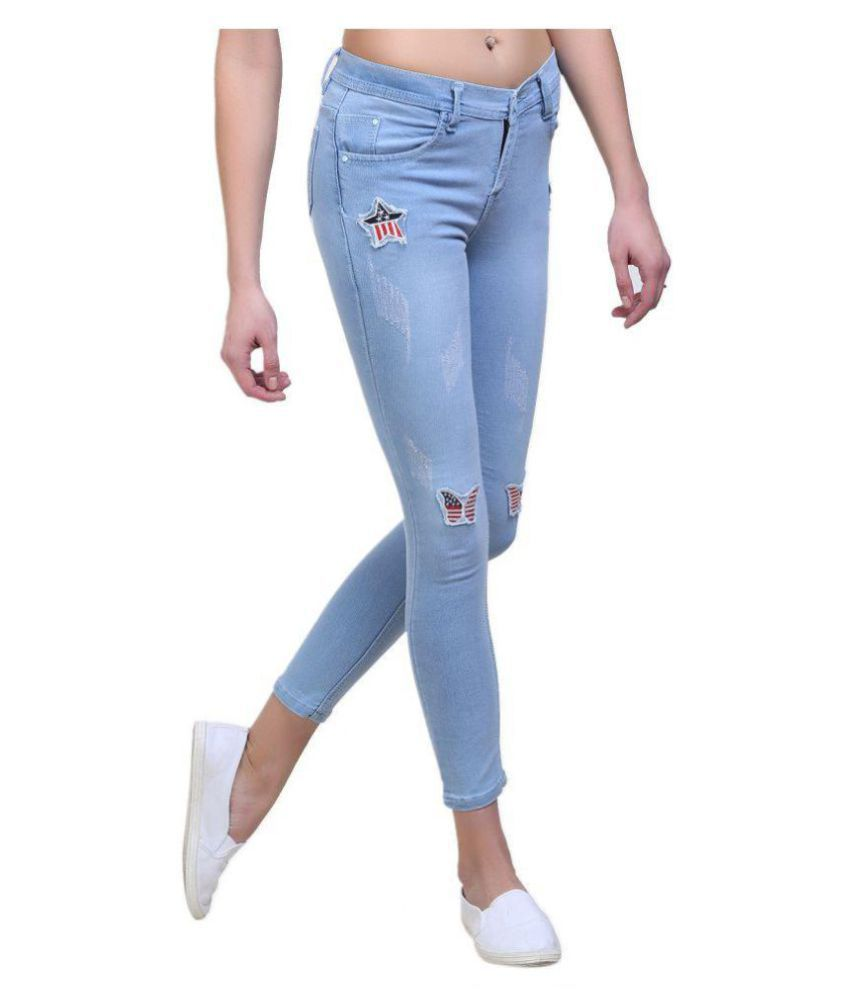 Essence Poly Cotton Jeans - Blue