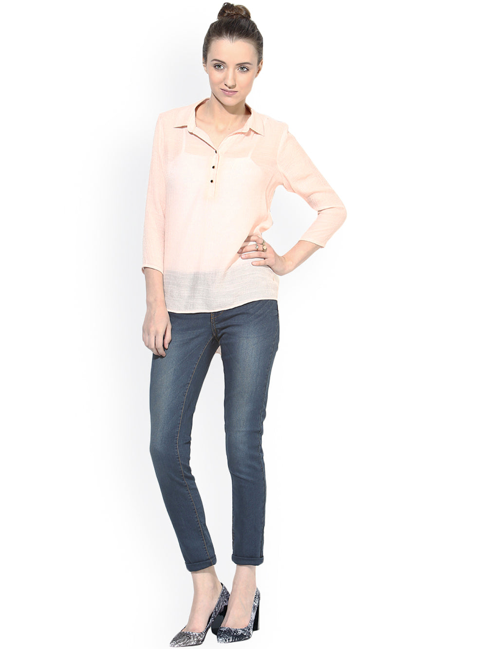 Besiva Pink Top