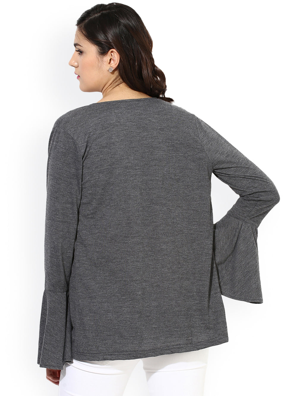 Besiva Charcoal Grey Shrug