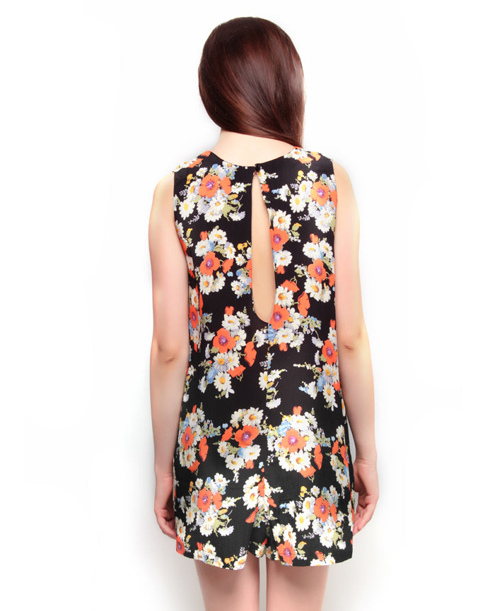 Floral Printed Playsuit