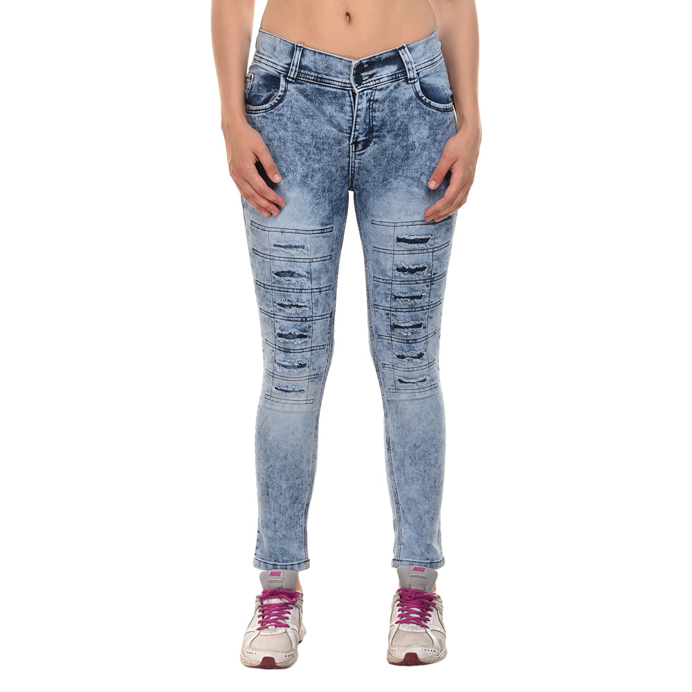 Essence Acid Wash Skinny Jeans