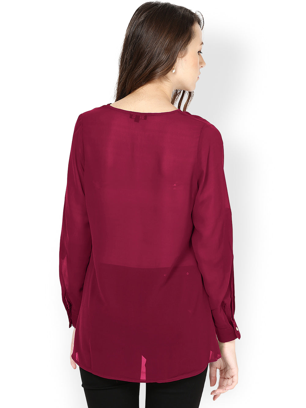 Besiva Dark Pink Top