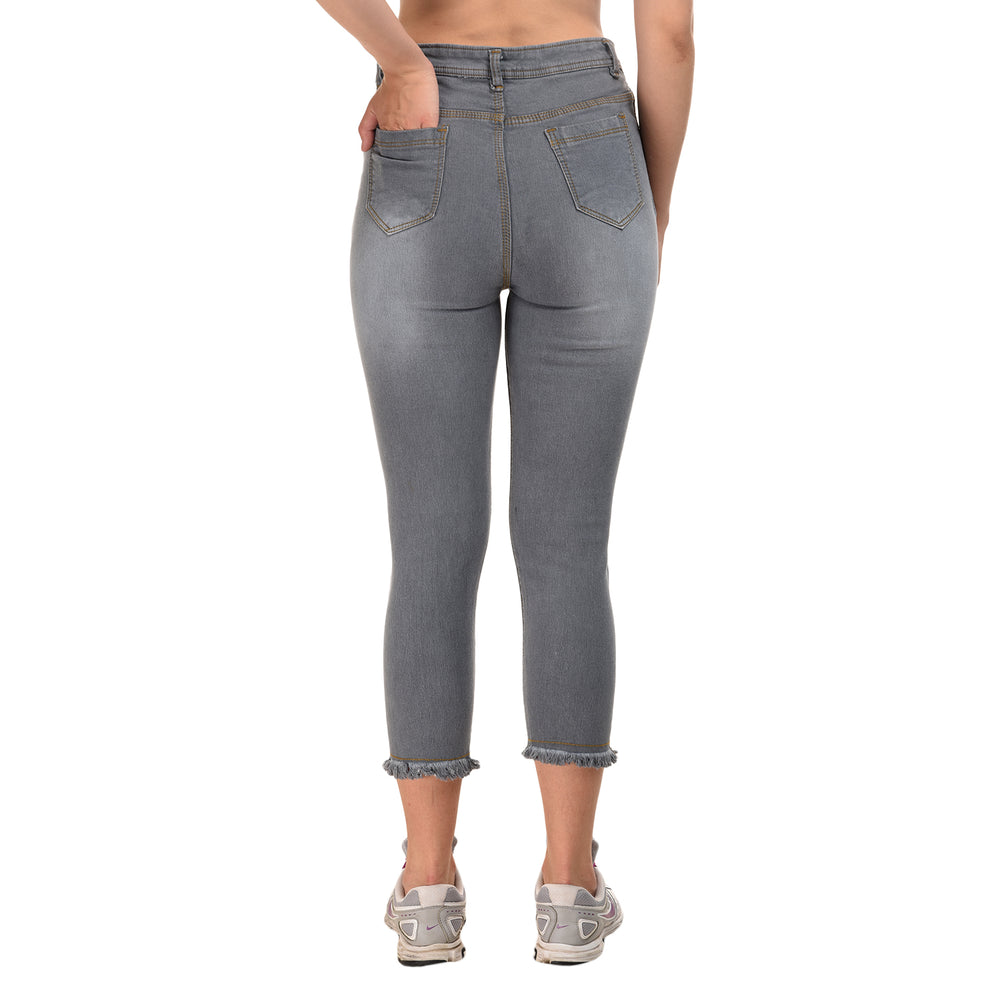 Essence Washed Drawstring Jeans