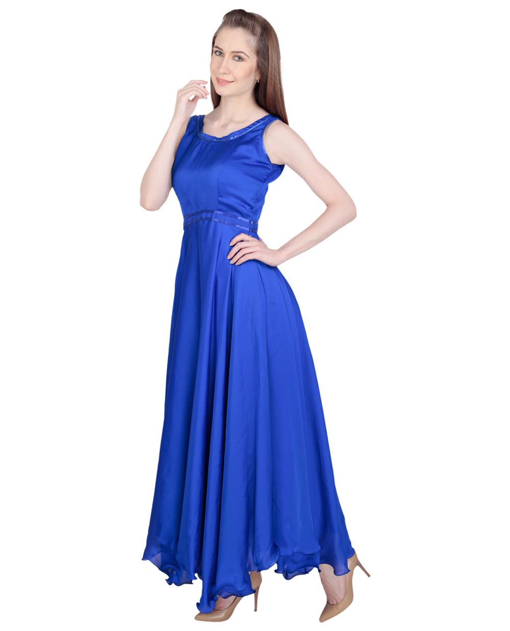 Satin Party wear Gown