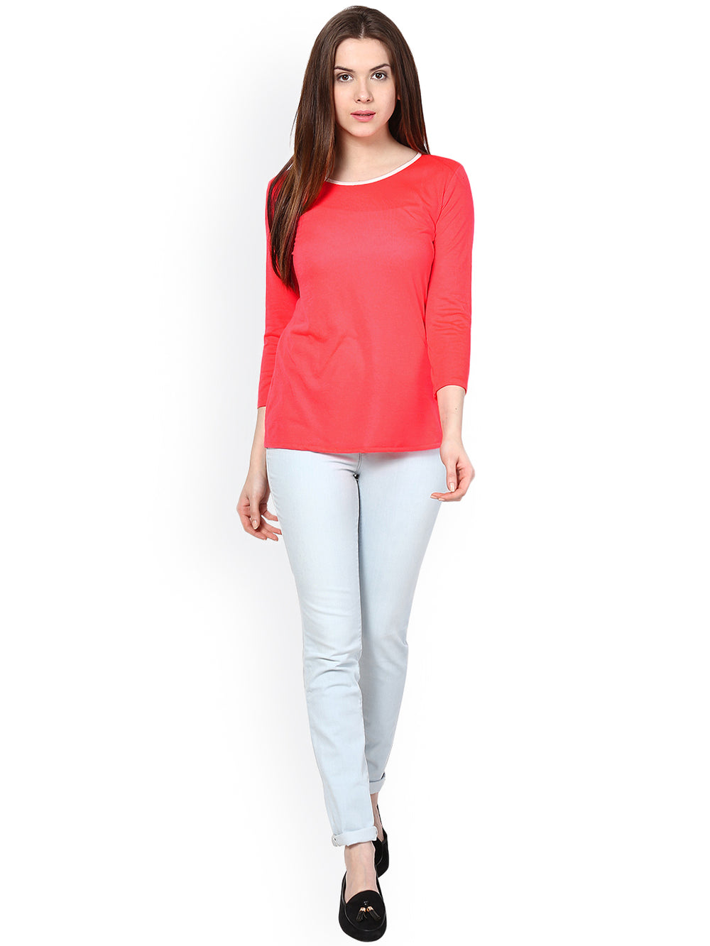 Besiva Women Pink Top