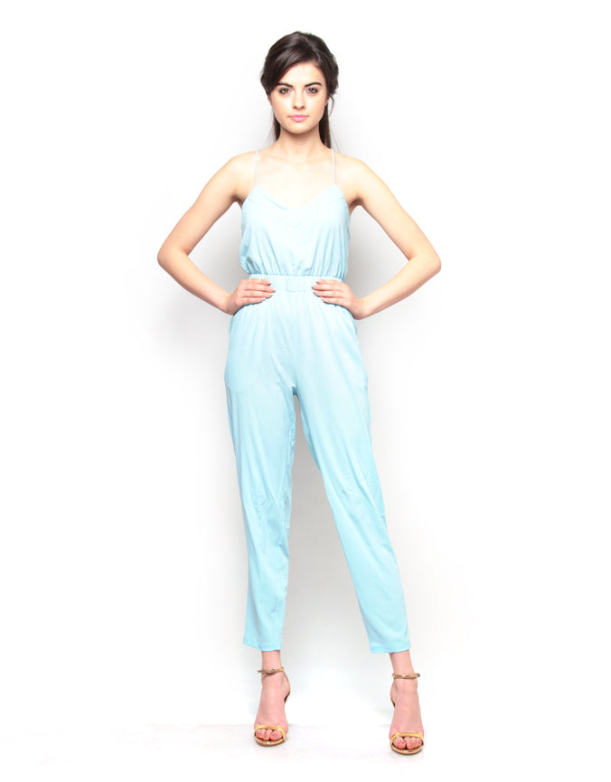 Strappy Narrow Leg Jumpsuit