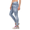 Essence Blue Acid Wash Jeans