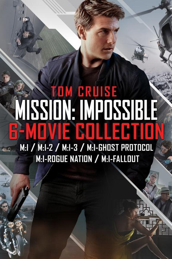 Mission: Impossible 6 Movie Collection (HD Vudu)