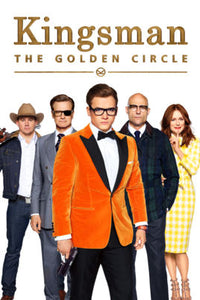 Kingsman : The Golden Circle (4K iTunes or 4K/HD Vudu)