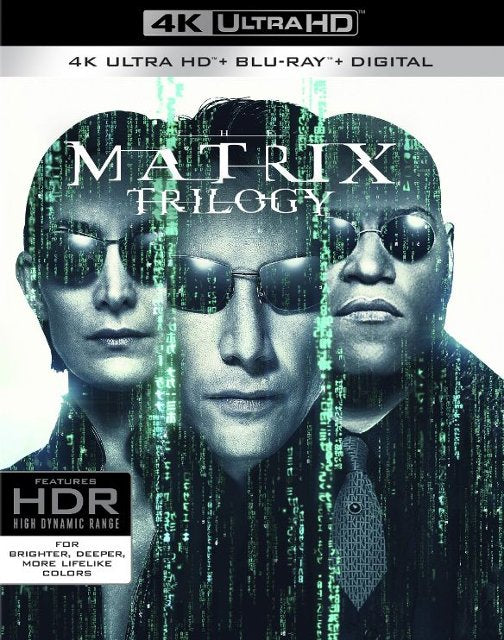 The Matrix TRILOGY [TRIPLE FEATURE] (4K iTunes / Vudu)