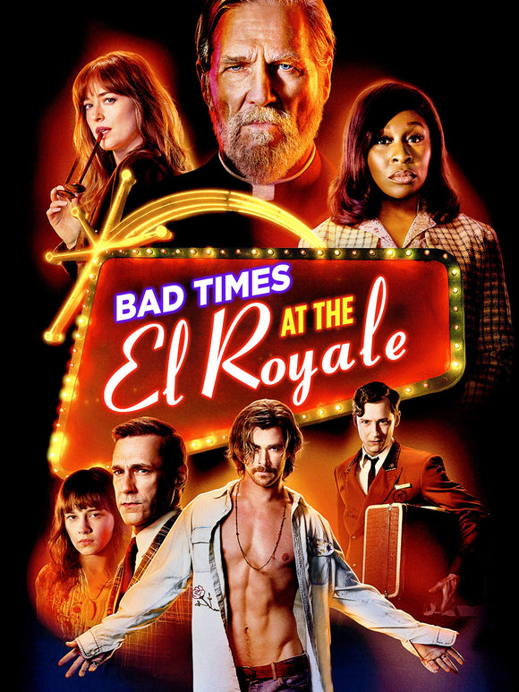 Bad Times at the El Royale (HD iTunes / Vudu)