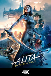 Alita: Battle Angel (4K iTunes / 4K Vudu)
