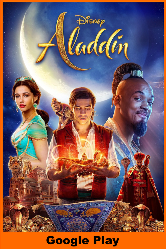 Aladdin (2019) (HD Google Play Redeem)