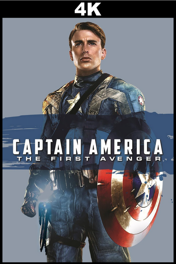 Captain America The First Avenger (4K)