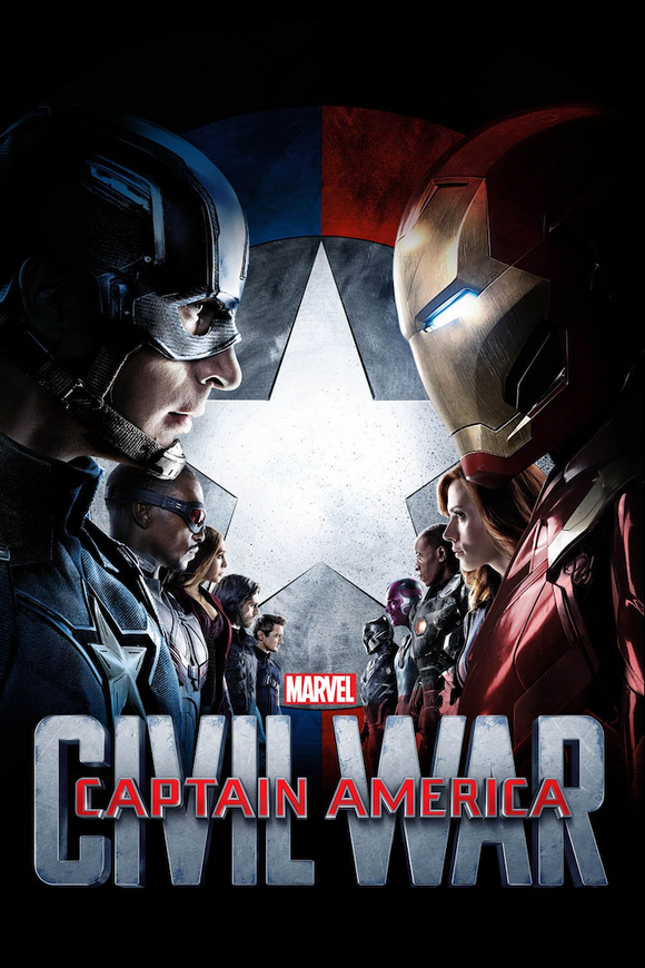 Captain America: Civil War (HD iTunes / HD Vudu)