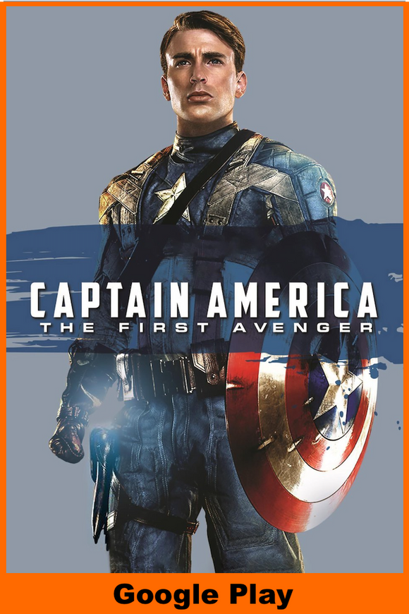 Captain America The First Avenger (HD Google Play Redeem)