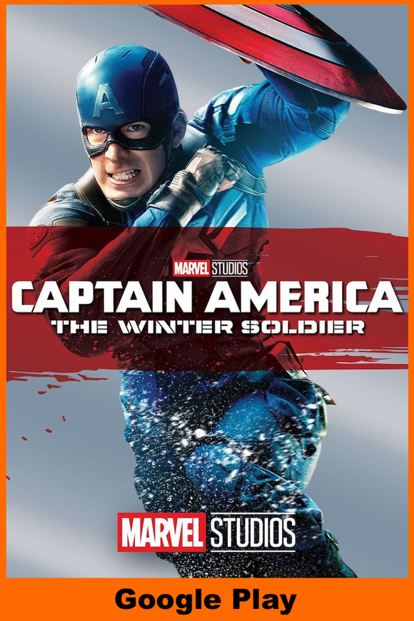 Captain America The Winter Soldier (HD Google Play Redeem)