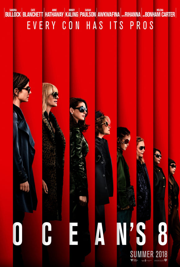 Ocean's Eight (HD iTunes / VUDU)