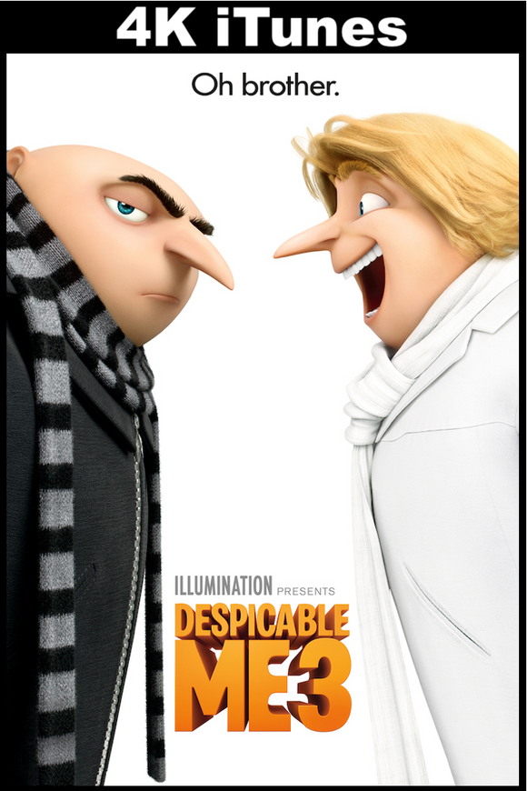 Despicable Me 3 (4K iTunes)