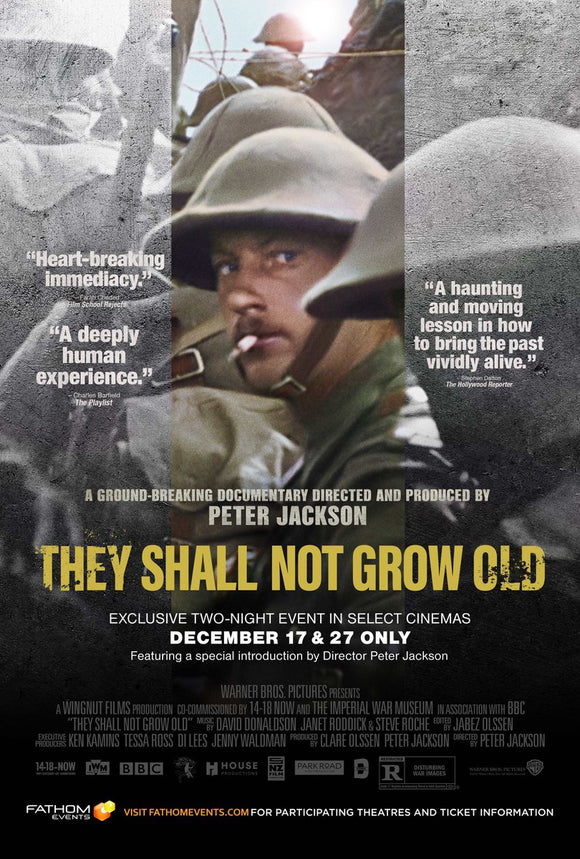They Shall Not Grow Old (HD iTunes / VUDU)