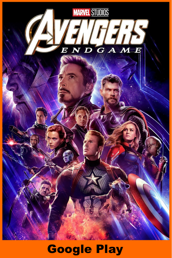 Avengers: Endgame (HD Google Play Redeem)
