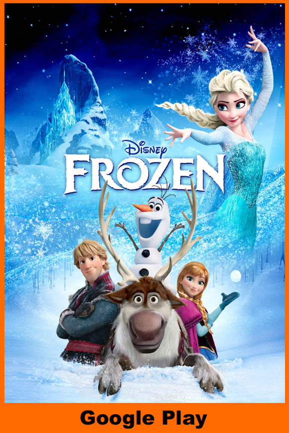 Frozen (HD Google Play Redeem)