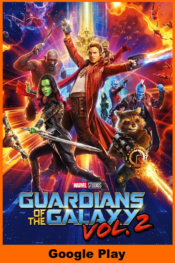 Guardians of the Galaxy 2 (HD Google Play Redeem)