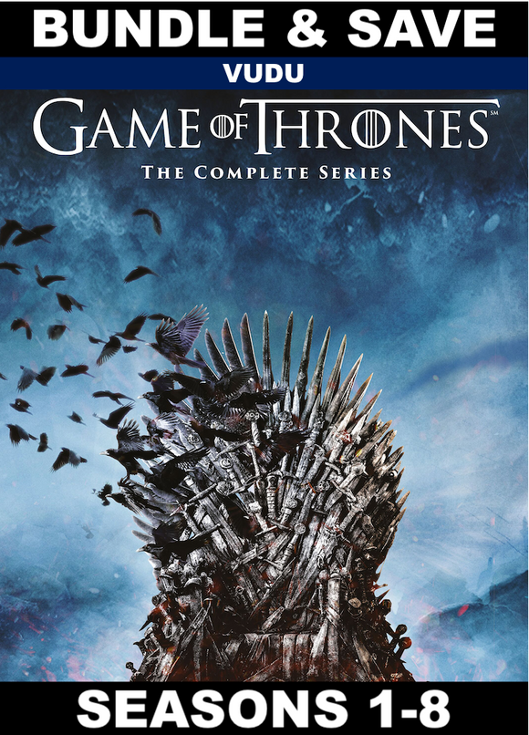 Game of Thrones Seasons 1-8 (HD VUDU)
