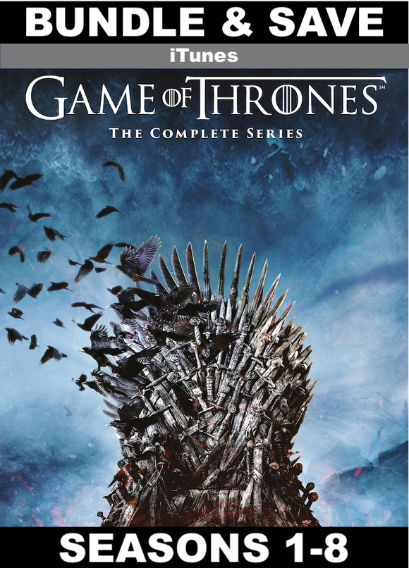 Game of Thrones Seasons 1-8 (HD iTunes)
