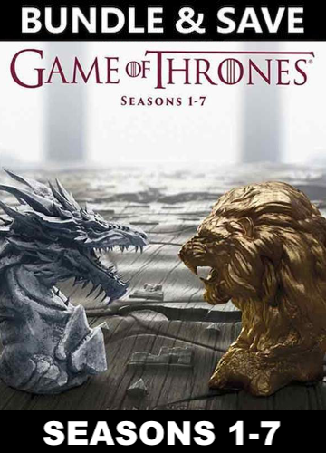 Game of Thrones - Seasons 1-7 (HD iTunes , HD Vudu or HD Google Play)