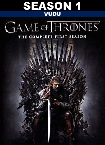 Game of Thrones : Season 1 (HD Vudu)
