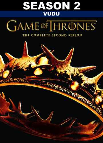 Game of Thrones : Season 2 (HD Vudu)