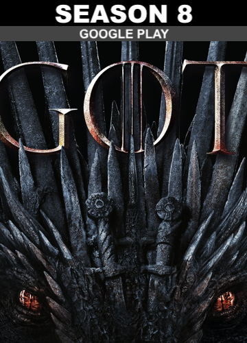 Game of Thrones: Season 8 (HD Google Play)