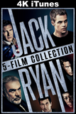 Jack Ryan 5-Film Collection (4K iTunes)