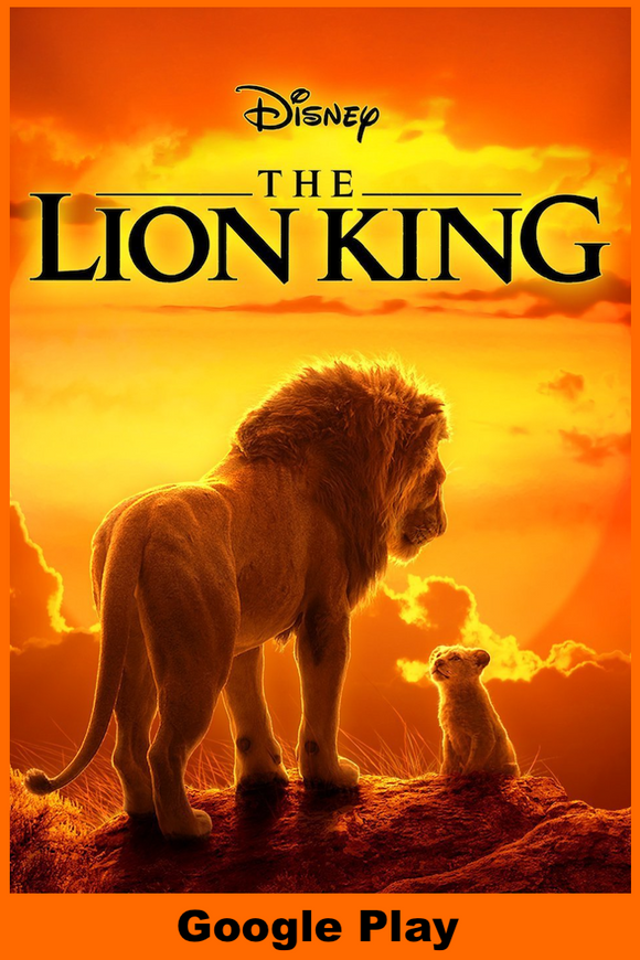 The Lion King (2019) (HD Google Play Redeem)