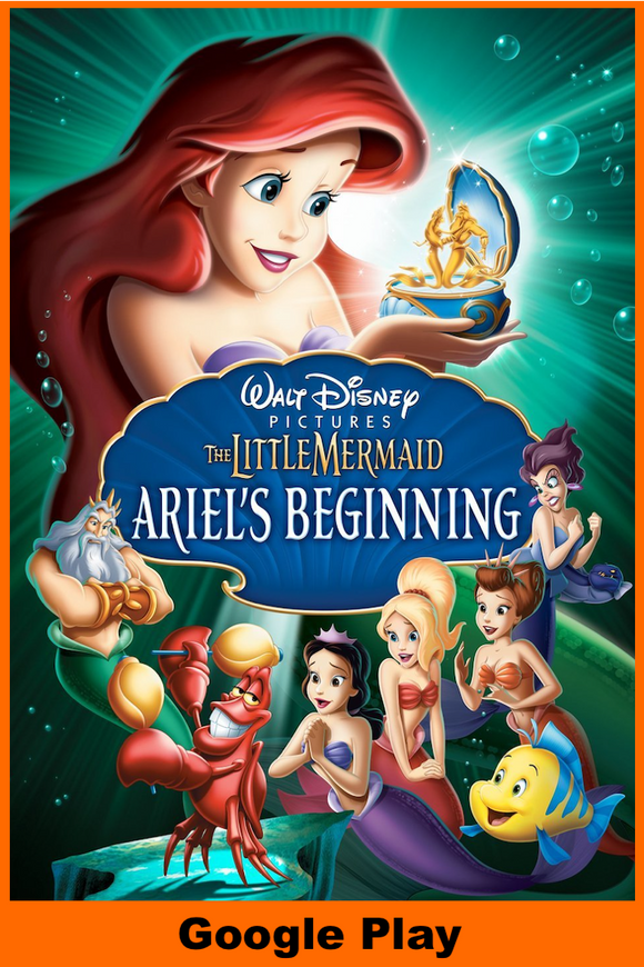 Little Mermaid III: Ariel's Beginning (HD Google Play Redeem)