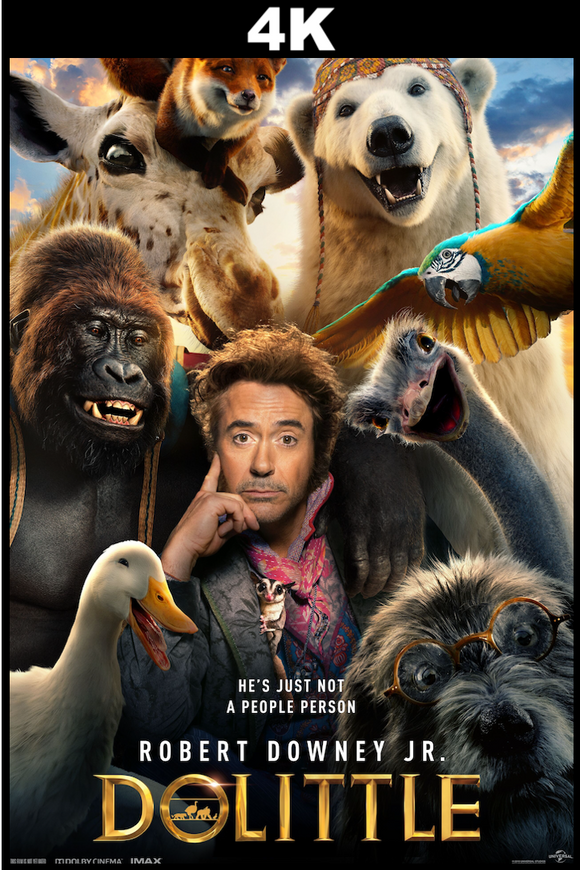Dolittle (4K iTunes / 4K VUDU)