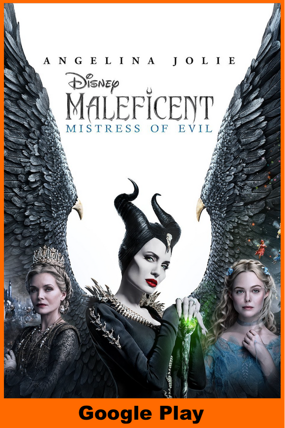 Maleficent: Mistress of Evil (HD Google Play Redeem)