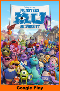 Monsters University (HD Google Play Redeem)
