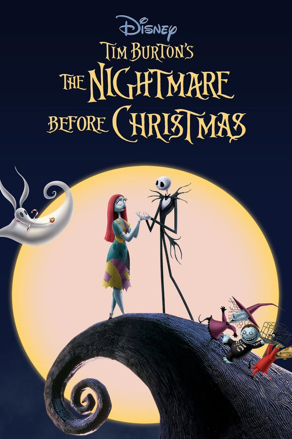 The Nightmare Before Christmas (HD iTunes / VUDU)