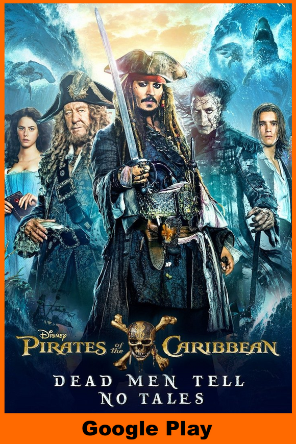 Pirates of the Caribbean: Dead Men Tell No Tales (HD Google Play Redeem)